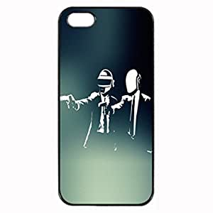 Daft Punk Photo Hard iphone 5 5S Case , Fashion Image Case Diy, Personalized Custom Durable Case For iPhone 5 5S