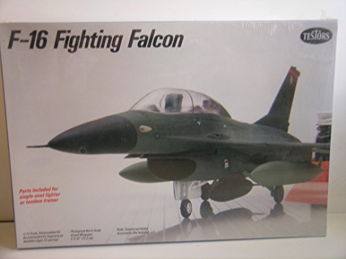 Fighting Falcon Aircraft Kit - Testors 1:72 F-16 Fighting Falcon - Plastic Aircraft Model Kit #680