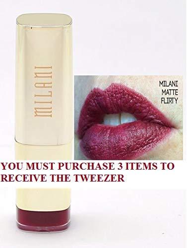 Lipstick - Matte Flirty +FREE PROFESSIONAL TWEEZER