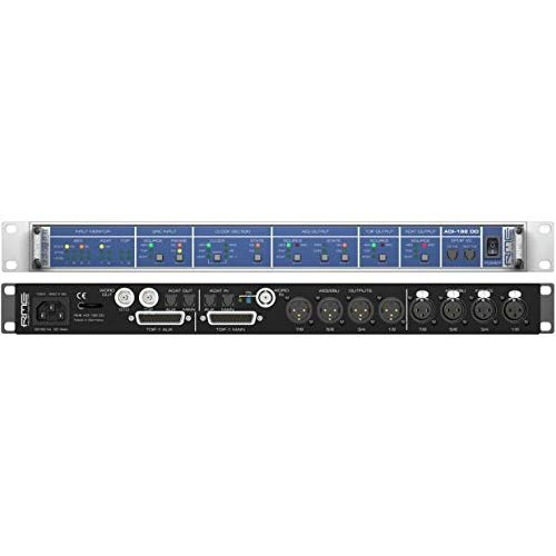 (RME ADI-192 DD | High Performance AES-EBU/ADAT/TDIF Format and Samplerate Converter with SteadyClock for Maximum Jitter Suppression and Clock Regeneration : 8-Channel 24-Bit/192kHz)