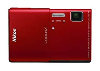 Nikon COOLPIX S100 16 MP CMOS Digital Camera with 5x Optical Zoom NIKKOR ED Glass Lens and 3.5-Inch OLED Touchscreen (Red) (B005IGVY1A) | Amazon price tracker / tracking, Amazon price history charts, Amazon price watches, Amazon price drop alerts