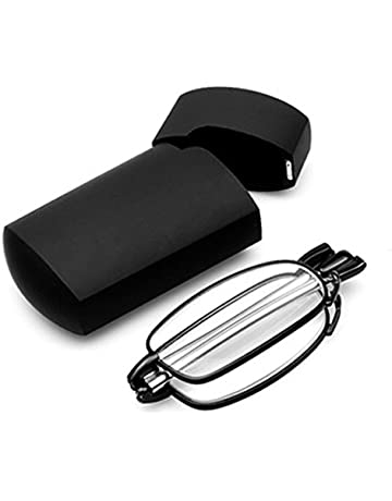 483ee7c6862 SODIAL(R) Portable 1 Pairs of Compact Folding Reading Glasses with Mini  Flip Top