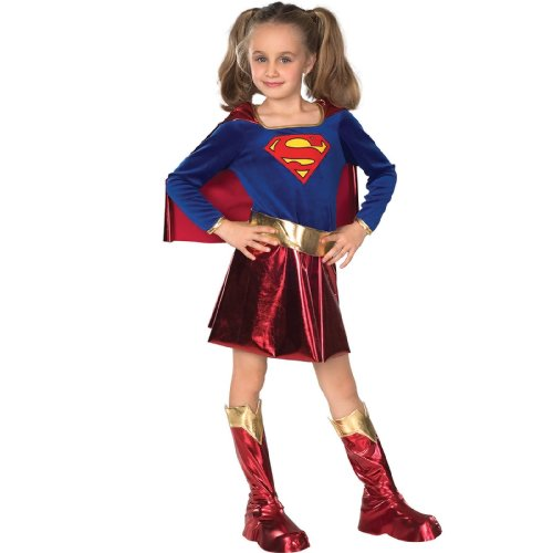 Rubies Supergirl Ultra Deluxe Kids Costume