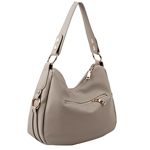 Bags Women's Design Ladies and Crossbody Emotional for Small Shoulder Copi Light Gray wp0xqp