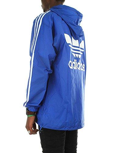 Uomo Wb Adidas Poncho Felpa Blu qtcYF