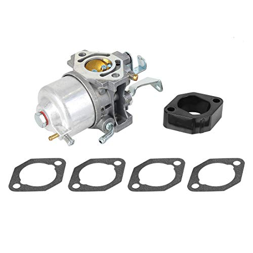 F FIERCE CYCLE Engine Motor Carburetor Replacement with Mounting Gaskets for Briggs Stratton 715668 715443 715121 -  a19110400ux0070