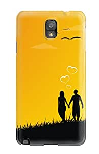 New Style 4516859K58848390 Tpu Case Cover Compatible For Galaxy Note 3/ Hot Case/ Always Together In Love