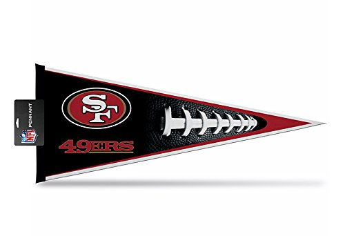 Rico Industries PNTH1901-H Pennant Carded 12 x 30 - San Francisco 49ers (San Francisco 49ers Miniature)