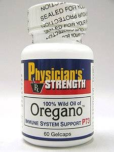 Physician's Strength - 100% Wild Oil of Oregano™ 60 gels