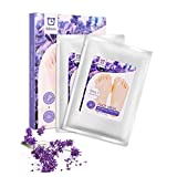 Foot Peel Mask 2 Pairs/Set, Fimate Lavender, Exfoliating and Moisturizing Mask - Remove Calluses and Dead Skin Cells in 7 days, Foot Cream Moisturizes, Repairs and Delay the Growth of Horniness (2 pairs)