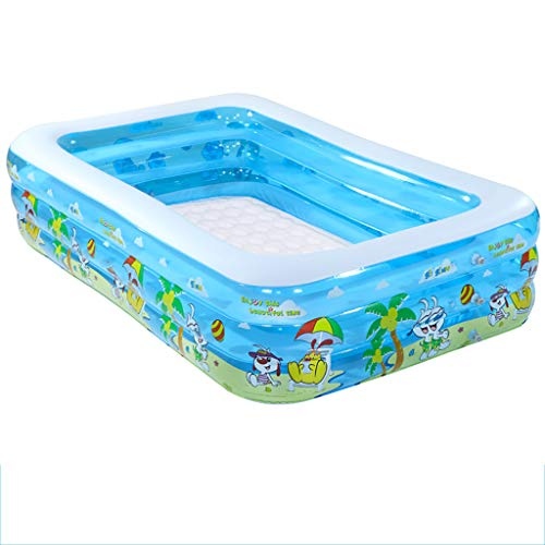 Adult bathtub Xue Yang Shop Foldable Inflatable, Children's Inflatable Pool, Family Large Swimming Pool 20015060cm, Suitable for Indoor and Outdoor
