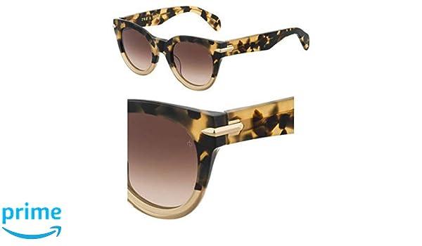 Sunglasses Rag and Bone Rnb 1015 //S 0C9B Havana Honey//HA brown gradient lens