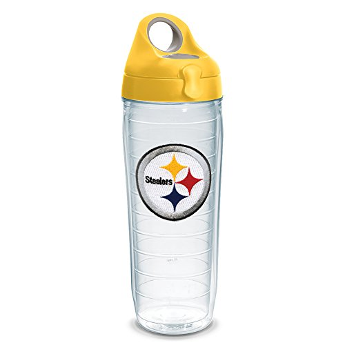 tervis-nfl-pittsburgh-steelers-emblem-water-bottle-with-yellow-wb-lid-24oz-clear