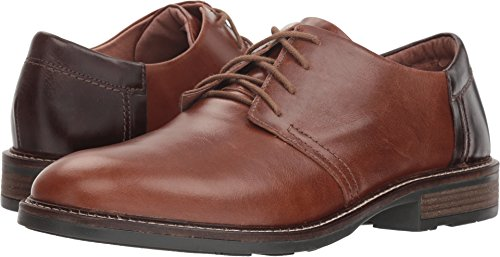 NAOT Men's Chief Maple Brown Leather/Walnut Leather/Toffee Brown Leather 45 M EU ()