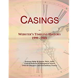 Casings: Webster's Timeline History, 1999 - 2001 Icon Group International