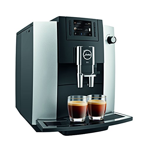 Jura 15070 E6 Automatic Coffee Center, Platinum (Jura A1 Bean To Cup Coffee Machine)
