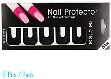 Portal Cool bittb Nail Art Strass Dotting Pen Decal línea Strip ...