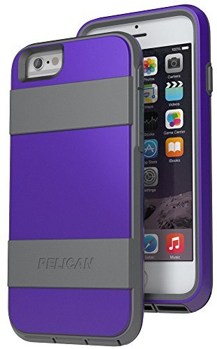 Pelican Voyager Rugged Case with Kickstand Holster for iPhone 6/6s - Retail Packaging - - Belt Voyager Lg Clip