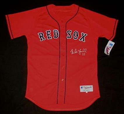 e3cc8573c Image Unavailable. Image not available for. Color  Mike Lowell Autographed  Jersey (boston Red Sox) ...