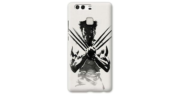 Case Carcasa Huawei P9 Lite superheros - - wolverine blanc ...