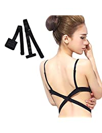 Low Back Bra Extender 3 Hook Bra Converter Strap for Women Lady Backless Dress