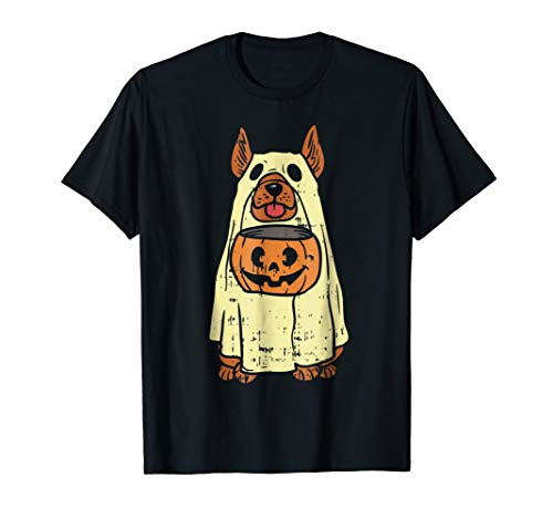 German Shepherd Halloween Costume Shirt Dog Owner Ghost Gift ()