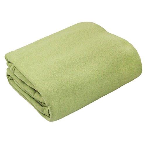 Cozy Fleece Solid Blanket Twin