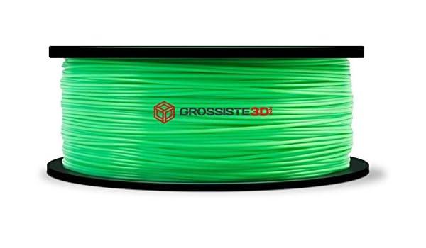 Filamento 3D translúcido Verde Pla 1.75 mm para impresoras 3D ...