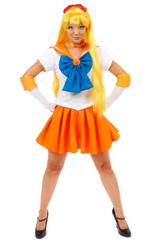 Sailor Moon Costume Man (Sailor Moon Sailor Venus Adult Costume Size Small)