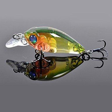 Amazon com : BuW Hard Bait Mini Crank 35mm/3 5g/1 2m Fishing