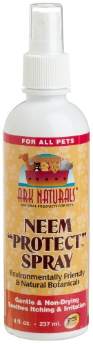 Ark Naturals Neem Protect Spray for All Pets, 8-Ounce Pump Bottles (Pack of 3), My Pet Supplies