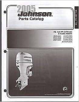 2005 JOHNSON OUTBOARD MOTOR 90 & 115 HP 2 STROKE PARTS