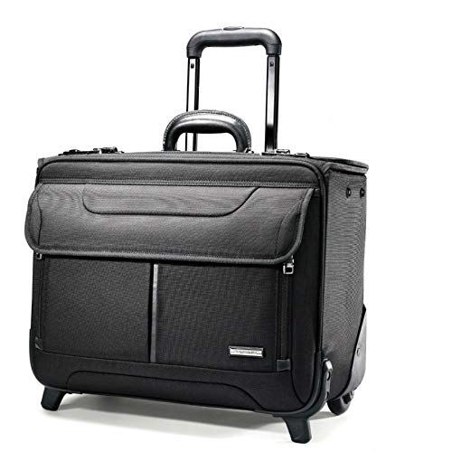 Samsonite Luggage Wheeled Catalog Case, Black (Wheeled Briefcase Samsonite)
