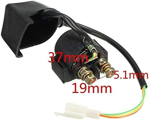 FYUU High Performance Racing 5 Pin AC CDI Ignition Coil Voltage Regulator Rectifier Solenoid Relay For 50cc 70cc 90cc 110 cc Chinese ATV Quad 4 Wheeler Go Kart Moped