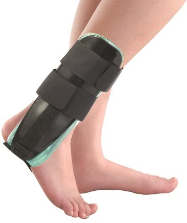 Air-Gel Ankle Support Brace Splint Guard Cast - One Size Fits Most ()