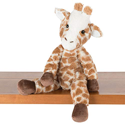 Vermont Teddy Bear Soft Giraffe - Soft Giraffe Stuffed Animal, Plush Toy for Kids, Brown, 15 inches