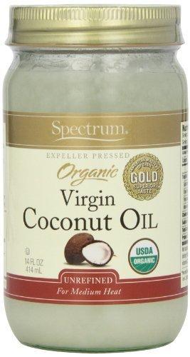 Spectrum Coconut Oil, Organic Unrefined, 14 Ounce Tub  by Sp
