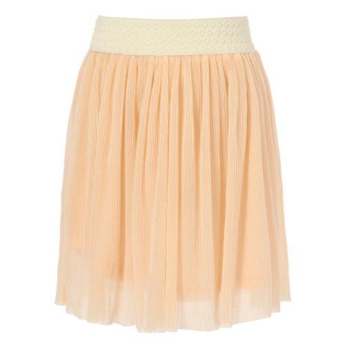 Skirt Woven Waist Elastic (Richie House Little Girls' woven lace skirt with elastic waist band RH0990-A-4/5)