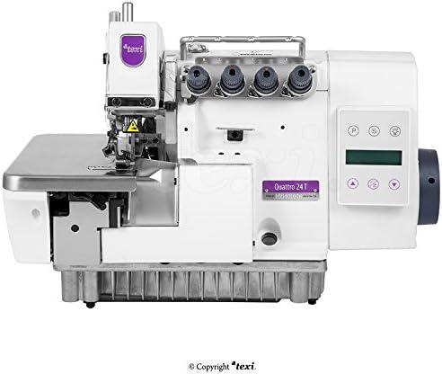 TEXI Overlock la Industria Máquina de Coser – 4 Hilos 2 Agujas ...
