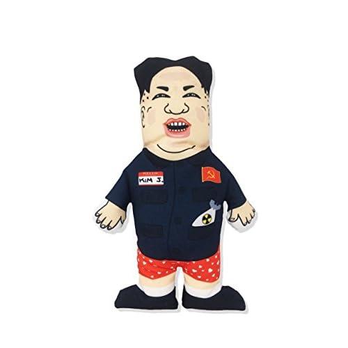 80%OFF OMG Doy Toys Evil Dictator Kim Jong Un Parody Funny Dog Toy