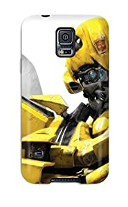 Galaxy S5 Case Cover - Slim Fit Tpu Protector Shock Absorbent Case (bumble Bee)