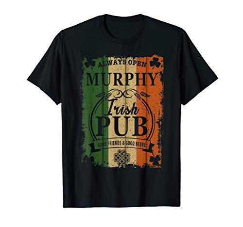 Murphy Irish Pub Good Friends & Beers T Shirt Irish - Pub Murphys