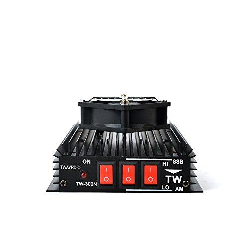 TWAYRDIO TW-300N HF Power Amplifier HF Transceiver for FM- AM-CW-SSB Amateur CB Radio with Cooler