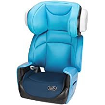 Evenflo Spectrum 2-in-1 Booster Car Seat, Bubbly Blue