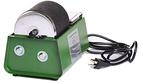 Green Single Drum 3lb Hobby Rotary Rock Tumbler Polisher
