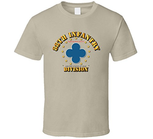XLARGE - 88th Infantry Division - Fighting Blue Devils - Tan