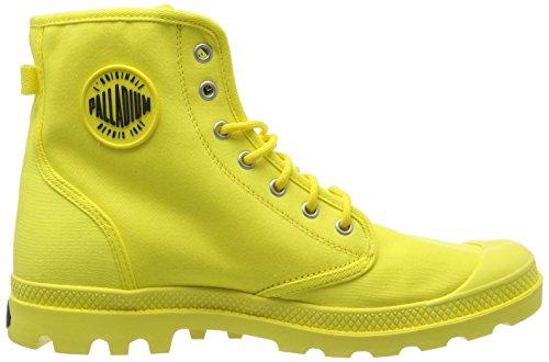 Palladium Unisex-adult Pampa Stevig Pak Hoge Sneaker Geel (geel Ffff00)