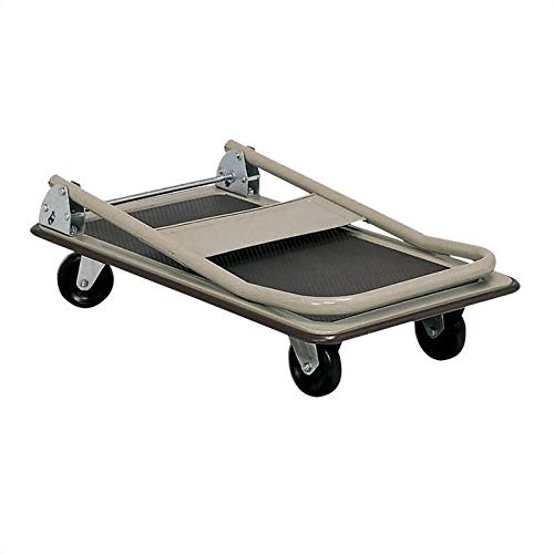 Safco Products 4077 Fold Away Small Platform Utility Hand Truck, Tropic Sand