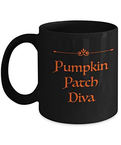 Pumpkin Patch Diva Halloween Mug]()