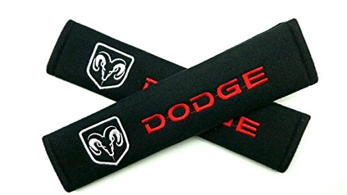 Car Accessory Warehouse Exclusive Product – DODGE Seat Belt Shoulder Pad Custom Automotive Seatbelt Pads